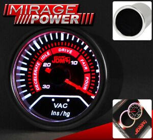 "2"" 52MM Vacuum Gauge Dial Reading For Nissan Versa Sentra Altima Maxima Cube GTR"