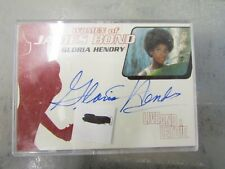 Women of James Bond Autograph Card Gloria Hendry Card WA5 Rittenhouse Archives