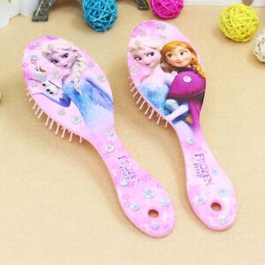 Elsa Anna Cartoon Frozen Child Air Cushion  Comb Toys Girl Soft Hair Brush