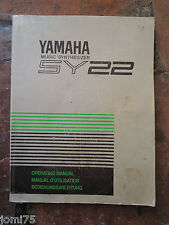 Rare Original YAMAHA 90' SY22 SY 22 Owner manual UK English DE FR