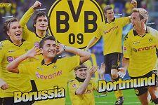 BORUSSIA DORTMUND - A3 Poster (ca. 42 x 28 cm) - BVB Clippings Fan Sammlung NEU