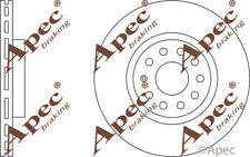 FRONT BRAKE DISCS (PAIR) FOR VW CADDY GENUINE APEC DSK2338