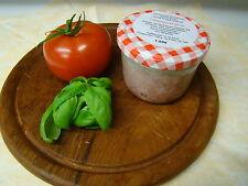 Leberwurst grob im Glas, gekocht