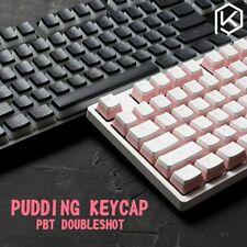 Pudding Style PBT Doubleshot Keycap Set OEM Back Lit Keycaps PC Master Race