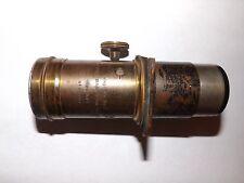 Antique RARE Early Brass Voigtlander and Son Telephoto No. 3 Lense Petzval?