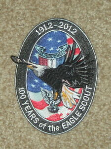 Eagle Scout 100 years jacket patch