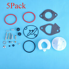 5 set Carburetor Rebuild Kit For Briggs & Stratton 796184 Carb 12HP-19HP Engines