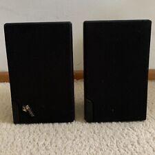 Advent Mini Speakers 2 Set Black Bookshelf Audio