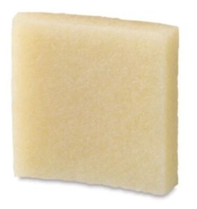 Natural Rubber Crepe Eraser 50x50x10mm ~ Removes Dried and Aged Adhesive Residue