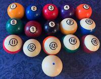 pool billiards balls - American Heritage Renaissance