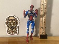 MARVEL LEGENDS Comics TOY BIZ Action Figure 2005 - CYBER SPIDER-MAN red & blue