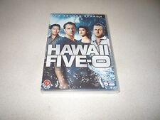 HAWAII FIVE -O  SECOND SEASON DVD 6 DISC BOX SET BRAND NEW AND SEALED