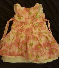 Summer dress, floral,  size 24 months girl,by Sweet Heart Rose