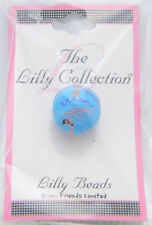 New Old Stock Lilly Collection Lilly Beads Blue Pink Flamingo Beads (3 Pack)