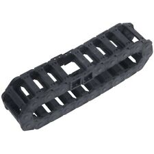 Machine Tool 25 x 77mm Black Cable Wire Carrier Drag Chain Nested F5C2