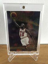MICHAEL JORDAN 1997-98 FLEER METAL UNIVERSE #23 NBA Card Chicago BULLS 🏀 🔥