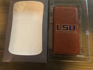 Gamewear NCAA LSU Tigers iPhone 6/6S Wallet Phone Case Leather Magnetic Closure