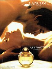 PUBLICITE ADVERTISING 056  2003    Attraction  parfum femme de Lancome