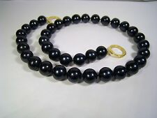 10mm BLACK TAHITIAN PEARL NECKLACE