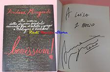 BOOK LIBRO ANDREA MINGARDI Benessum AUTOGRAFATO 2000 PRESS CLUB cd lp dvd