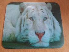 Tiger Mouse Pad - Beautiful White Tiger