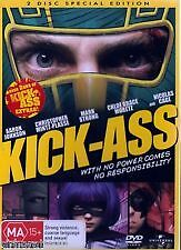 KICK-ASS (2-DISC SPECIAL ED'N) - BRAND NEW & SEALED DVD (COMIC SUPERHERO COMEDY)
