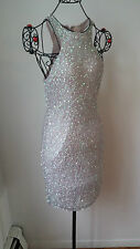 Parker Sequin Lilac Dress sz.M  NWT $ 360