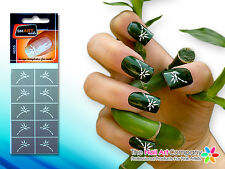 SmART-Nails - Bamboo Nail Art Stencils N055 Professional Nail Product