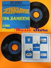 LP 45 7'' IVA ZANICCHI Zingara Io sogno france FONOLA 260.208 MF cd mc dvd