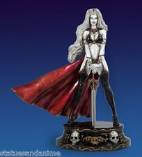 CS MOORE LADY DEATH FAUX BRONZE STATUE WHITE VERSION BRAND NEW # 75 / 200