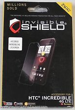 Zagg InvisibleSHIELD For HTC Droid Incredible 4G LTE - BUY ONE GET ONE FREE