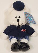 NWT Bears of the World UK United Kingdom Britain bear beanie collectible RARE!