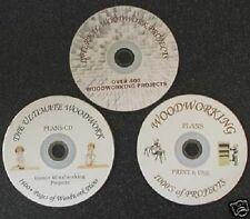 Masiva de carpintería, Colección, más de 1 GB de Pdf de planes, Solo Cd De Tu nunca necesidad