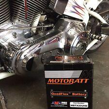 New MotoBatt MBTX20UHD 12V AGM Battery Sealed Replace Harley#65989-97C GYZ20L