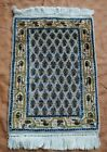 AFGHAN HAND MADE SMALL HAND KNOTTED 100%WOOL RUG GEOMETRIC AND PICTORIAL