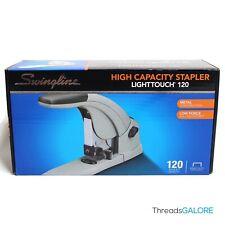 Swingline Lighttouch Heavy-Duty Stapler Full Strip 120-Sheet 90010 NEW