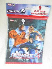 Fantastic Four Birthday Party Treats Bags New
