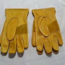 Wells Lamont Premium Leather Gloves 1209m Medium Lot 2