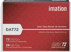 New Imation DAT72 Digital Data Storage Tape 72GB Compressed/ 36GB Uncompressed