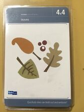 Quickutz 4x4 Fall Leaves Harvest Die *New*