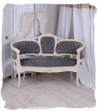 Vintage Sofa Marie Antoinette Couch Sitzbank Shabby Chic Barocksofa Salonsofa