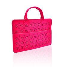 """UNIK CASE-Felt Laptop Sleeve Bag Case Cover for All 13"""" Laptop-Hot Pink"""