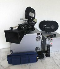 ARRIFLEX 16 BL EQ CAMERA 2 zooms 2 magazines, 2 cases, Ultra Rare! Excellent!