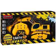 RC Radio Controlled Digger Earth Excavator Like cat jcb Brand New in box