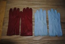 vintage ladies leather gloves