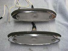 New Pair Reverse Back-UP Light Assembly 1962 Studebaker Lark with Lens
