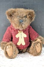 """""""GINGER SNAP"""" 7 INCH STYLE # 91523 BOYDS BEAR"""