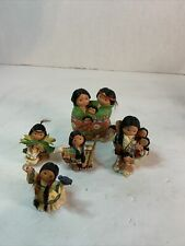 enesco friends of the feather figurines Lot