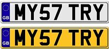 MISTRY MYSTERY private personal personalised  number plates plate for sale