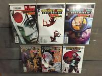SUICIDE SQUAD MOST WANTED #1 2 3 4 5 6 1-6 COMPLETE SET NM DEATHSTROKE KATANA